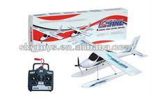 !4CH RC brushless motor powered water landing Airplane plane models rc float plane