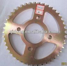 Bajaj Pulsar 180 Fine CNC line Yellow Zinc motorcycle sprocket