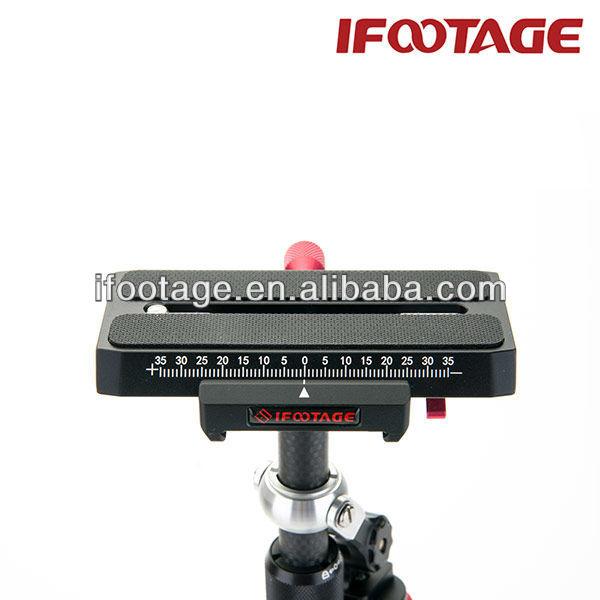 الألياف الكربونية ifootage العشوائية steadicam dslr كاميرا فيديو مثبتة