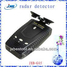 Portable car radar detector with gps