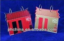 Acrylic Desk Calendar Rack with a Chinese characteristics