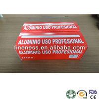 aluminium foil 30cm in roll with color box FA-201