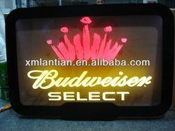 High brightness acrylic LED edge lit light sign on sales