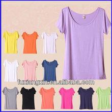 wholeale plain 100 cotton new design custom t-shirt