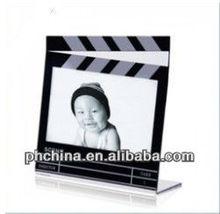 Acrylic L Shaped Photo Frame;Clear Acrylic Photo Frame Block;Acrylic Picture Frame