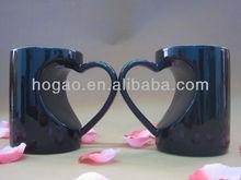 3d animal design ceramic mugs, embossed decrated mug