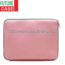 2013 Fashinable Pink Neoprene Laptop Case for Lady (FRT01-272)