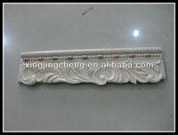 foam carton packing resin border skirting for MD market