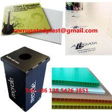Waterproof PE/ PP Plastic Cardboard