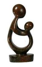 modern abstract figurers stone sculpture