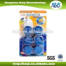 High decontamination formulation 50gramx2 automatic toilet blue eco toilet block