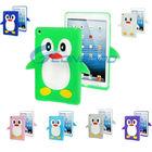 3D Penguin Design Silicon Cover Case for iPad mini