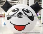 Advertising lovely panda cartoon balloons