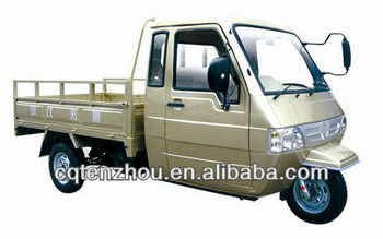 LY200ZH-7 three wheel cargo motorcycle with cabin favorable
