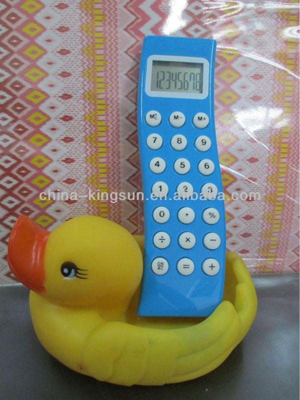 Promotional pocket calculator