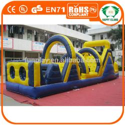 HI HOT! OEM EN commercial inflatable obstacle course,giant inflatable obstacle course, inflatable obstacle