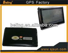 MTK3351 CPU for 4.3 inch navigation 128M+4g+isdb-v, gps navigation 480*272 ,windows CE 6.0 4.3 inch car gps with FM