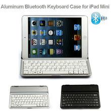 Aluminum Wireless 3.0 Bluetooth Keyboard Case for iPad Mini