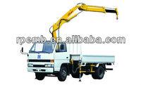 Mini lifting capacity XCMG knuckle Boom Truck Mounted crane SQ1ZK2Q/truck mounted hydraulic cranes