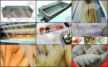 2013 hot sales MHC brand potato carrot washing peeling machine