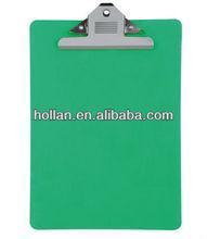 Venda quente escritório plástico F / C papel Clipboard