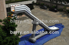 2013 new design inflatable slip and slide for yacht