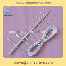 hot sale Oxidation aluminum alloy 9.5db yagi antenna with wire