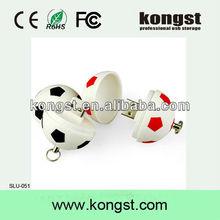 2013 new design football usb flash drive transcend usb 2.0 free sample worldwide for football fan