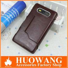 PU leather for nokia lumia 820 case