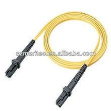 Sm dx 9/125 2.0mm 1m fibra óptica mtrj cabo jumper
