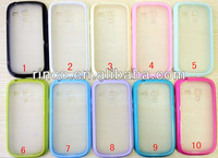 2 in 1 TPU+PC soft hard frosted matte case skin cover for Samsung Galaxy S3 mini i8190 Case