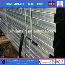 BS 1387 galvanized steel square tube / pipe supplier