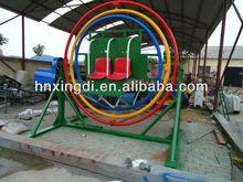 exciting amusement park rides human gyroscope rides human sport equipment