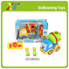 Funny cartoon 4CH radio control truck rc truck toy educational toy