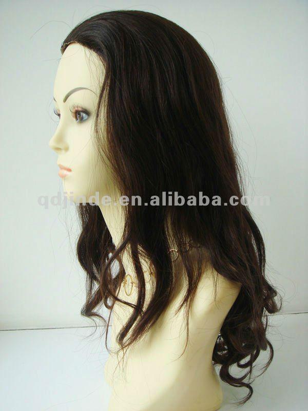 Human Hair Half Wig Sale 7
