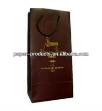high-end wine bag/ satin wine bag/ double wine bags