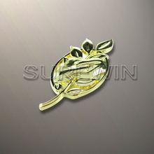 Leaf Design Decoration Metal Lapel Pin Badge
