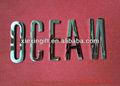 Alta calidad espejo letras de acero