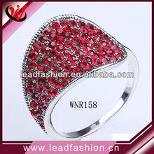 fashionable rings ruby design