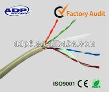 UTP cat5e network cable PVC/PE jacket