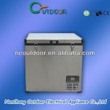 80L portable dual zone car portable freezer refrigerator