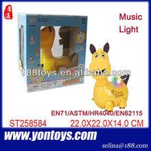 Bo cartone animato animale con musica& luce