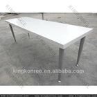 non-porous low-maintenance solid surface 12 seater dining table