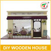 DIY Miniature House Cute Doll House With Light And Simulation Furniture GW384504