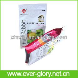 For Rabbit Fruit Packing Water Proof Side Gusset Lamination Bag