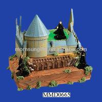 Harry Potter Polyresin Castle for Wedding Cake Decoration