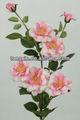 27792HN seda artificial flor rosa e peça central do casamento flor artificial