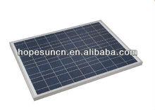 30w solar powered panel/ pv module