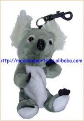 portable mini soft plush animal design golf ball bag