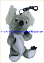 portable mini soft plush animal design golf ball bag